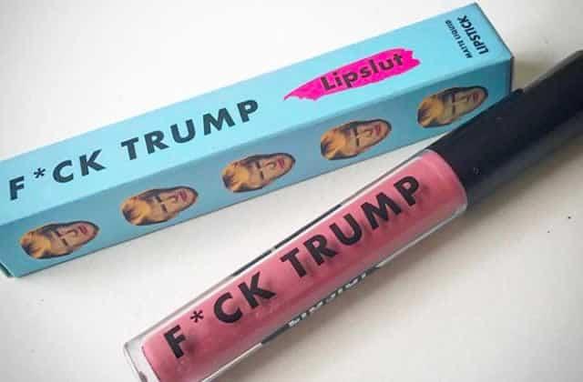 Plus de 40 000$ récoltés pour les victimes de Charlottesville grâce au rouge à lèvres «Fuck Trump»