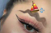Face à la mer, Calo, Passi et les sourcils en forme de vagues