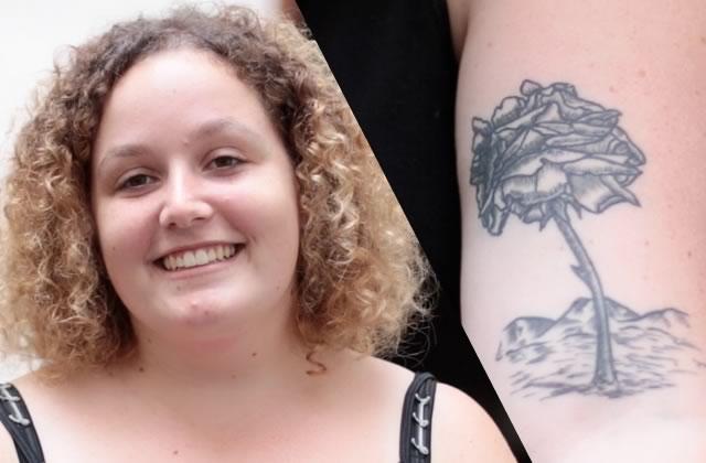 Street Tattoos — Mallory et ses tatouages faits à Montréal