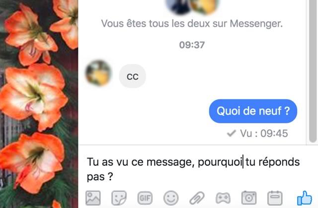 Comment désactiver la notif « vu ✓ » quand vous lisez une conversation sur Messenger