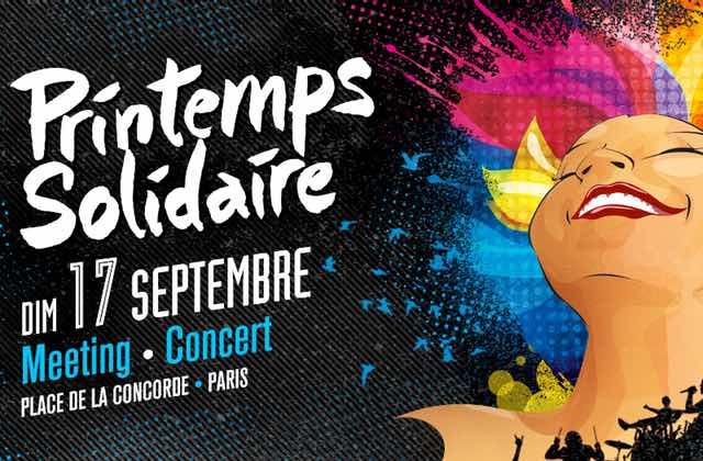 Rendez-vous à la manif-concert de Printemps Solidaire, dimanche 17 septembre !
