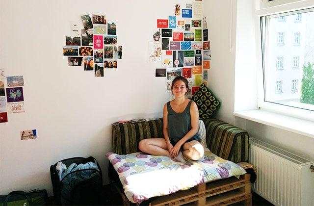 Dans l'appart' de Clara, responsable d'équipe dans une start-up à Vienne (en Autriche)