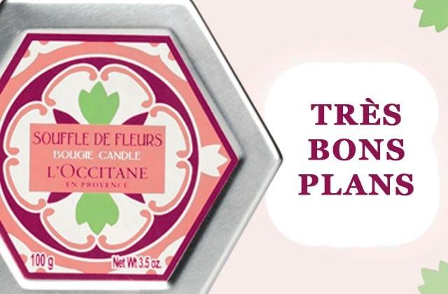 Viens profiter des bons plans chez L'Occitane !