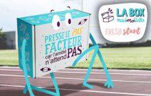 La box septembre de Fresh start dispo en achat unique (40 exemplaires seulement)!