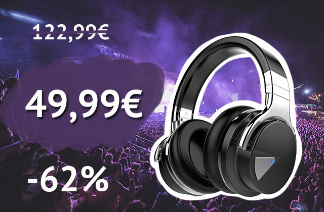 Un casque audio réducteur de bruit à -62% — Bon Plan Amazon