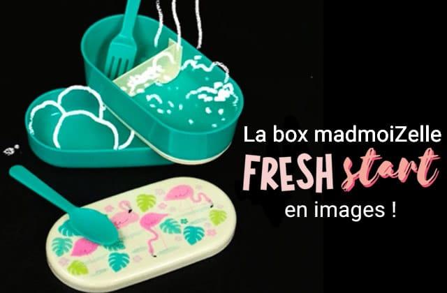 La box madmoiZelle Fresh Start se dévoile devant tes yeux ébahis !
