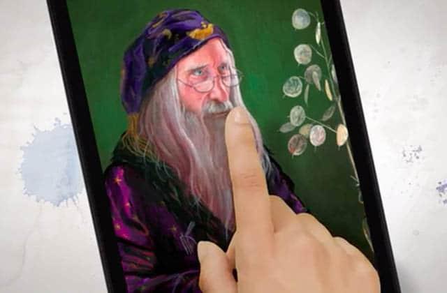 (Re)Lis Harry Potter façon Gazette du sorcier avec cette nouvelle version numérique animée!