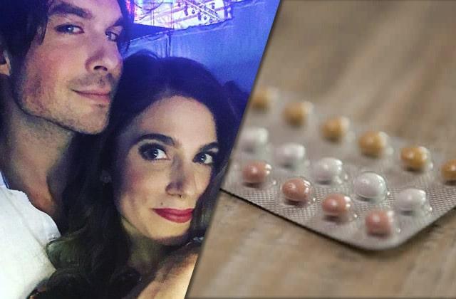 Ivre virgule Ian Somerhalder balance la contraception de sa femme aux WC