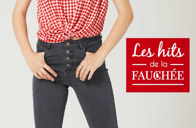 Des jeans pas chers pour la rentrée—Les 10 Hits de la Fauchée #241