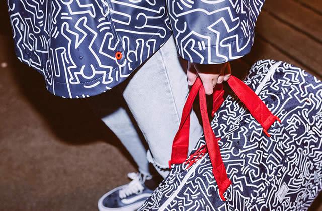 Keith Haring fait vibrer les sacs à dos Herschel