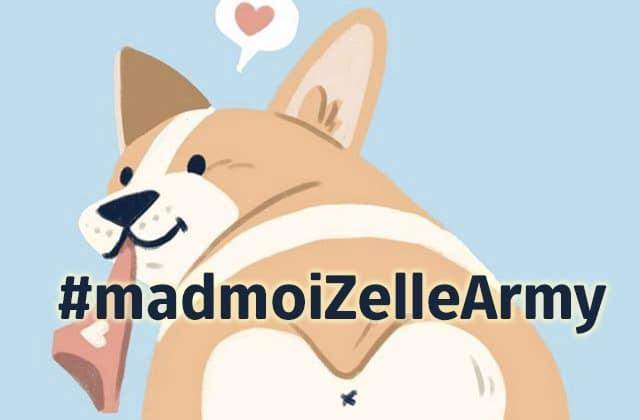 Un «double rainbow», un corgi et Lionel des Linkup sur #madmoiZelleArmy!