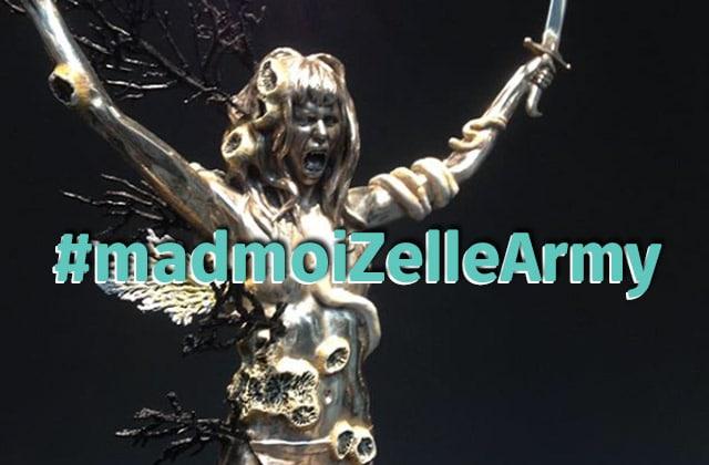 De la broderie sur culotte? C'est aussi ça #madmoiZelleArmy!