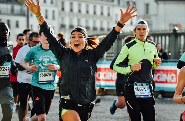 Mon premier semi-marathon, je ne m'en sentais pas capable, mais j'ai réussi!