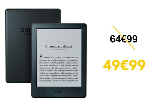 Bon Plan:le Kindle reconditionné à 49,99€, ton meilleur pote pour la rentrée