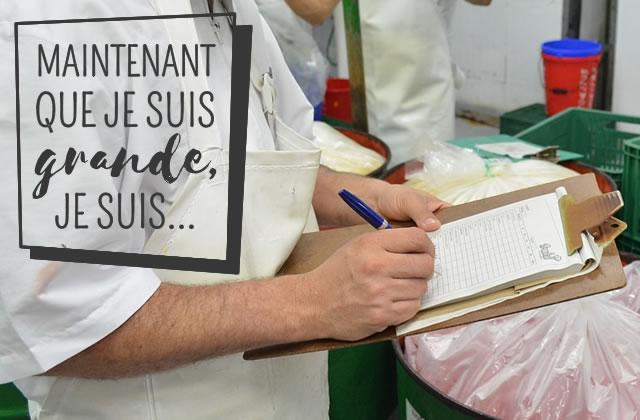 Céline, assistante qualité dans l'alimentaire, un métier «passionnant et stable»