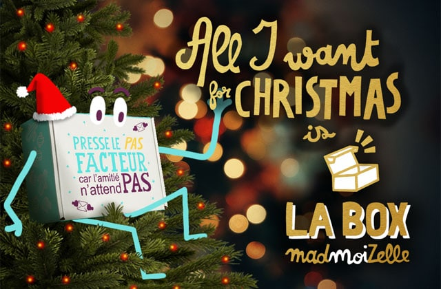 [BOX] « All I want for Christmas » is la box madmoiZelle ! [SOLD OUT]