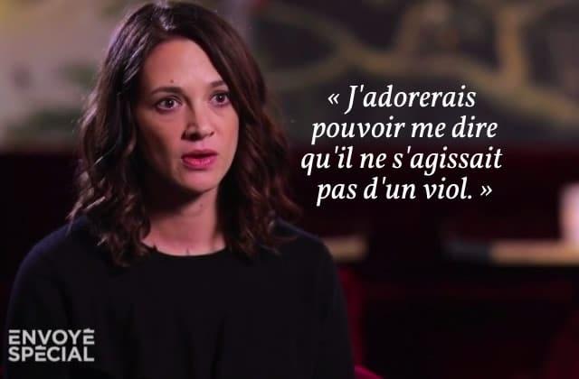 Asia Argento témoigne contre Harvey Weinstein, «l'ogre entre mes cuisses»