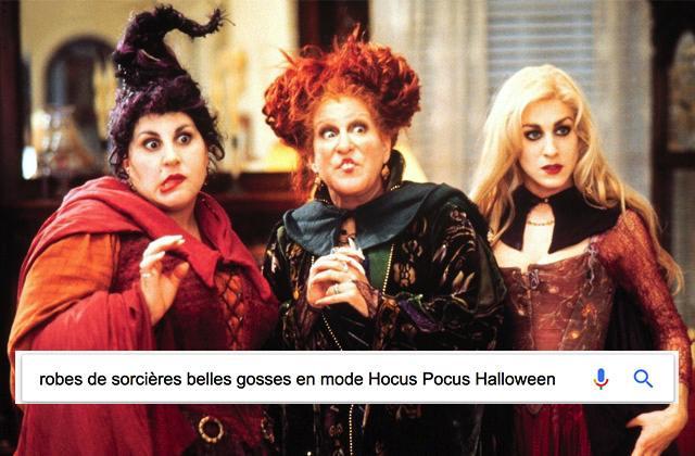 Quels sont les costumes d'Halloween les plus recherchés sur Internet en 2017?