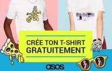 Étudiantes, ASOS vous propose de créer votre t-shirt et de le recevoir gratuitement!