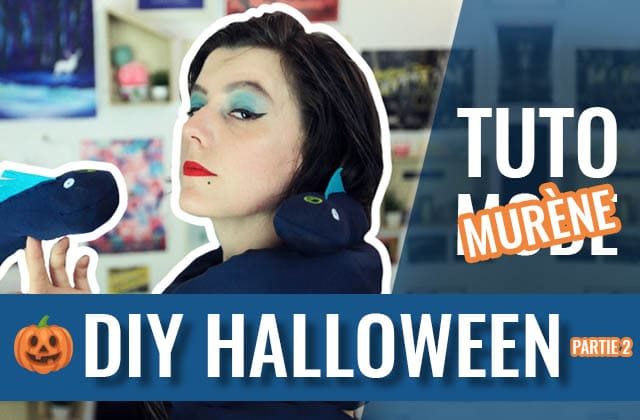 Un DIY d'Halloween super facile, façon Ursula !