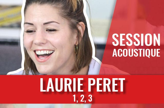 Laurie Peret et sa chanson sur l'accouchement à crever de rire
