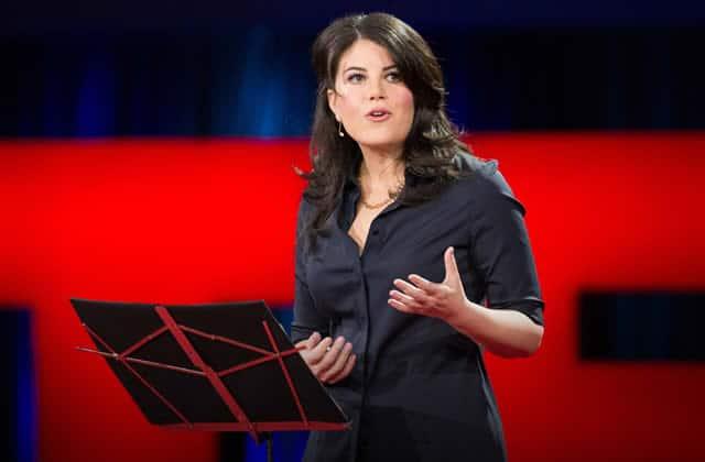 Monica Lewinsky, largement harcelée sur Internet, s'engage contre le harcèlement en ligne