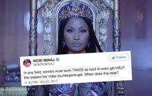 Nicki Minaj dénonce le sexisme dans le hip-hop: «Quand est-ce que ça s'arrête?»