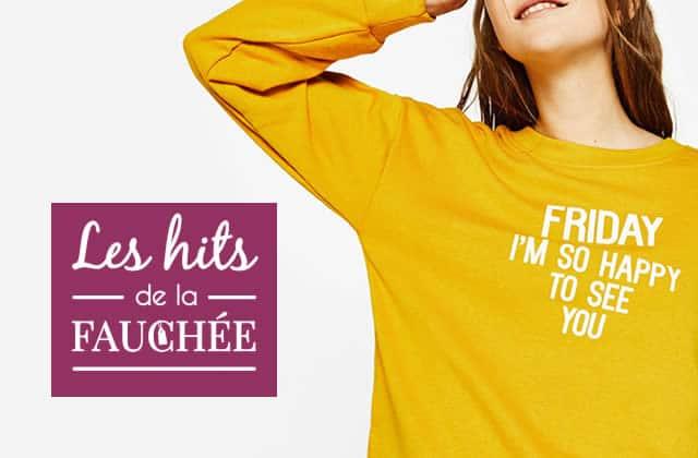 Des sweat-shirts parfaits pour la mi-saison avec les 10 Hits de la Fauchée #247