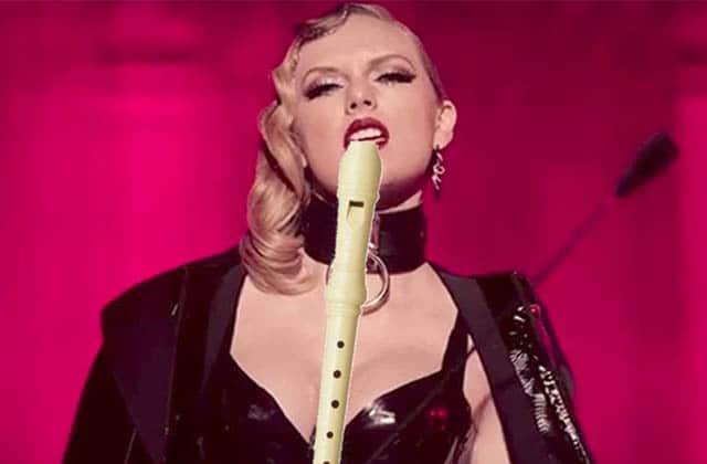 Taylor Swift (mal) repris à la flûte à bec est tout ce dont vous avez besoin pour commencer la semaine