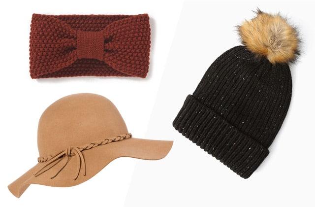 12 chapeaux et bonnets à moins de 15€ pour l'hiver !