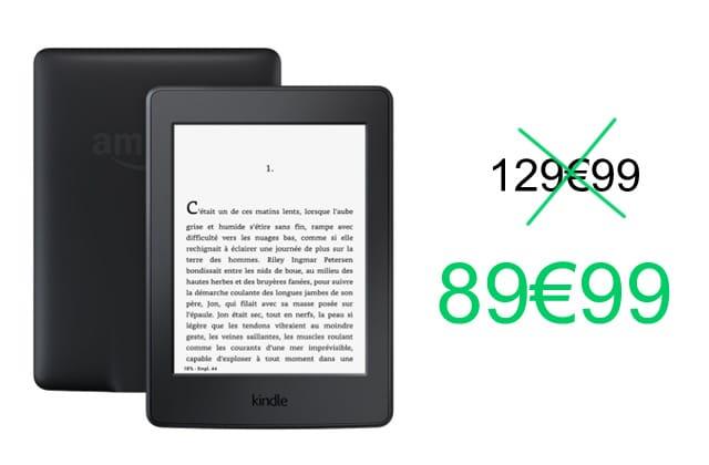 Bon plan : le Kindle Paperwhite en promo (-31%) pour le Black Friday!