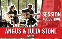 La beauté illustrée par «Snow» d'Angus & Julia Stone en acoustique