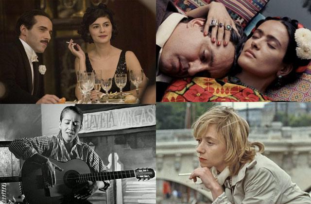4 biopics sur des artistes inspirantes, féministes et courageuses