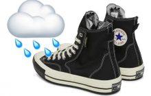 Les Converse imperméables pour être stylée sans pieds trempés