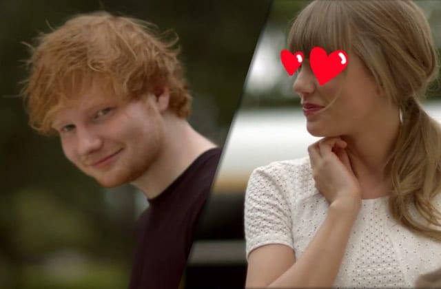 Taylor Swift, amoureuse d'Ed Sheeran? Le chanteur répond!