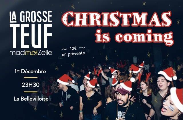 [GROSSE TEUF] Christmas is Coming avec un karaoké géant & un DJ set le 1er décembre!