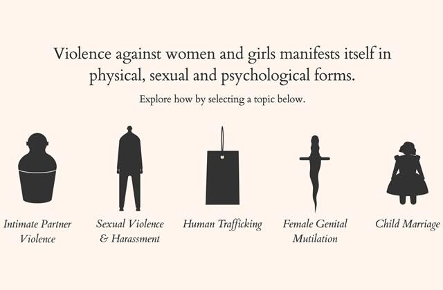 Le 25 novembre, luttons contre toutes les formes de violences faites aux femmes