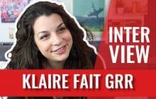 Trolls, règles, Chattologie… Klaire fait Grr nous raconte ses projets en interview-canapé!