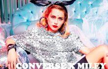 Miley Cyrus va te mettre plein d'étoiles dans les yeux avec sa collaboration Converse