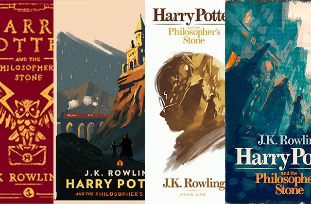 4 couvertures d'Harry Potter BIEN TROP BELLES qui auraient pu voir le jour