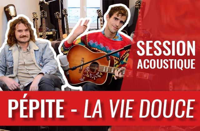 Lou Marco en session acoustique