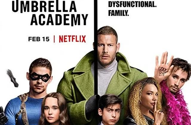 The Umbrella Academy (avec Ellen Page) est #DispoSurNetflix