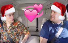Le Carpool Karaoke de Noël va te donner envie de piquer le métier de James Corden!