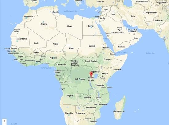 Kigali Porte D Entree Au Continent Africain Carte Postale Du Rwanda