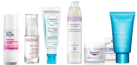 produits soin peau déshydratée