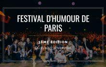 Le Festival d'humour de Paris débarque du 10 au 22 janvier !
