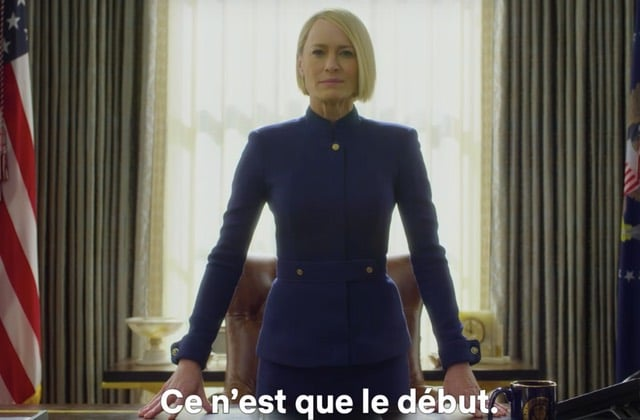 House of Cards saison 6: Claire Underwood prend le pouvoir?