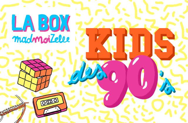 [BOX] Hommage aux kids des 90's dans la box madmoiZelle de janvier