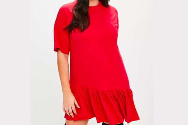 missguided-robe-rouge-loose