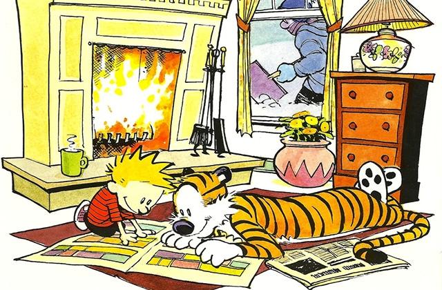 Ode à Calvin et Hobbes, la lecture-doudou par excellence!